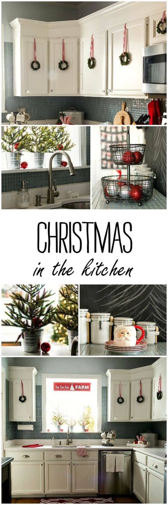 Cheap and easy Christmas decor ideas and Crafts. Find here Xmas decorations DIY for outdoor, living room and other spaces in your home or apartment. Here are the Christmas decor ideas 2017 on Pinterest! #Xmas #Christmas #christmasdecorating #ChristmasDecor