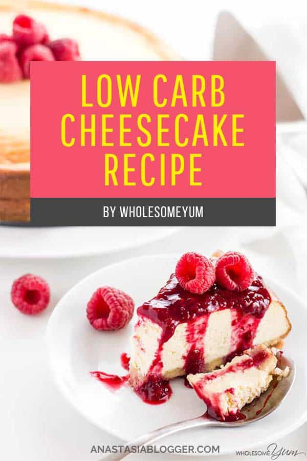 Low Carb Cheesecake Recipe – Sugar-Free Keto Cheesecake. Save these 9 Easy Keto Dessert Recipes – keep your Ketogenic Diet guilt-free and indulge your sweet tooth self! These healthy Keto Desserts are quick to cook, some are no-bake, but all are low carb and will never break your ketosis. Keto Fat Bombs, chocolate, cream cheese, cheesecakes and other pleasures all Keto-friendly! #keto #ketogenic #ketodiet