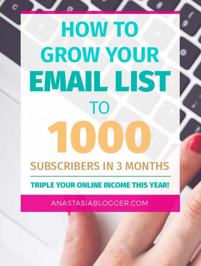 how to build an email list of 1000 in 3 months 2019 best strategiesfrom this post you will know how do you build an email list and grow it