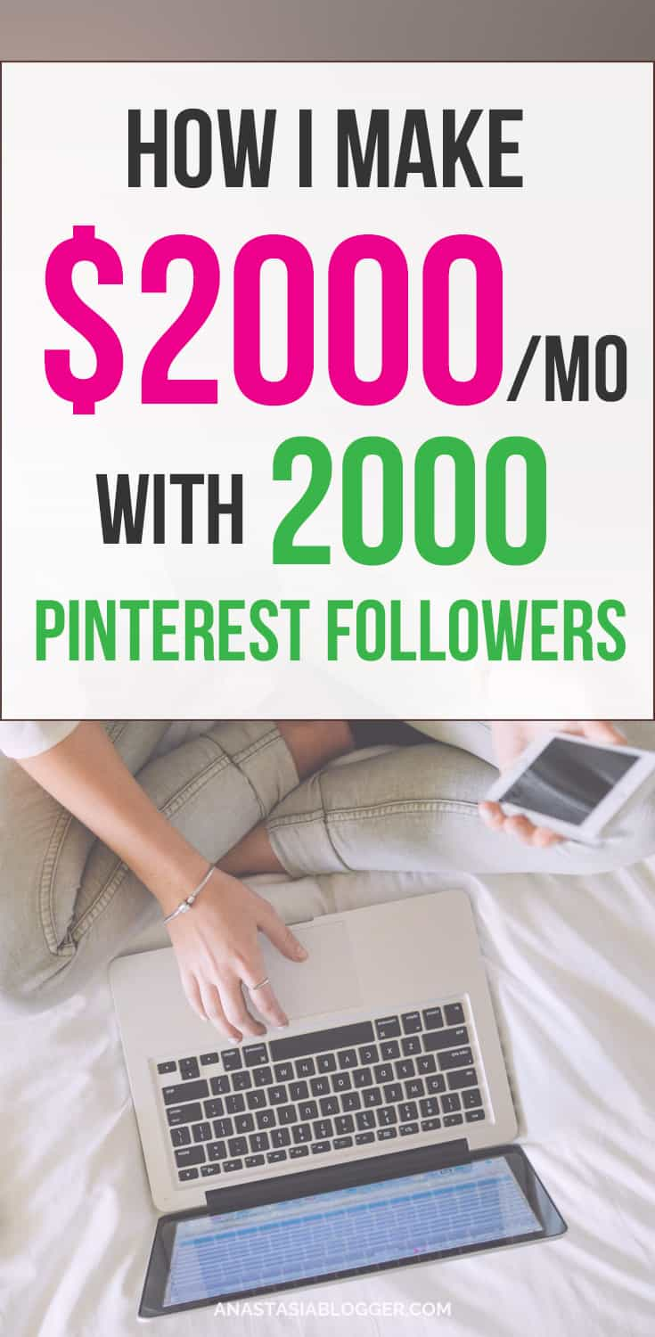 My blogging income report for January 2018 - I made $2085 with just 2000 Pinterest followers. You can make money blogging too - with ads, affiliate marketing, and your own products. Just start a blog and watch your income reports adding zeros every year! Make money at home, make money online   Make money on the site   Make money ideas   Best Survey Sites   Make Money Online   Work From Home   Make Money From Home   Quick Cash #makemoneyonline #money #workfromhome #blogging