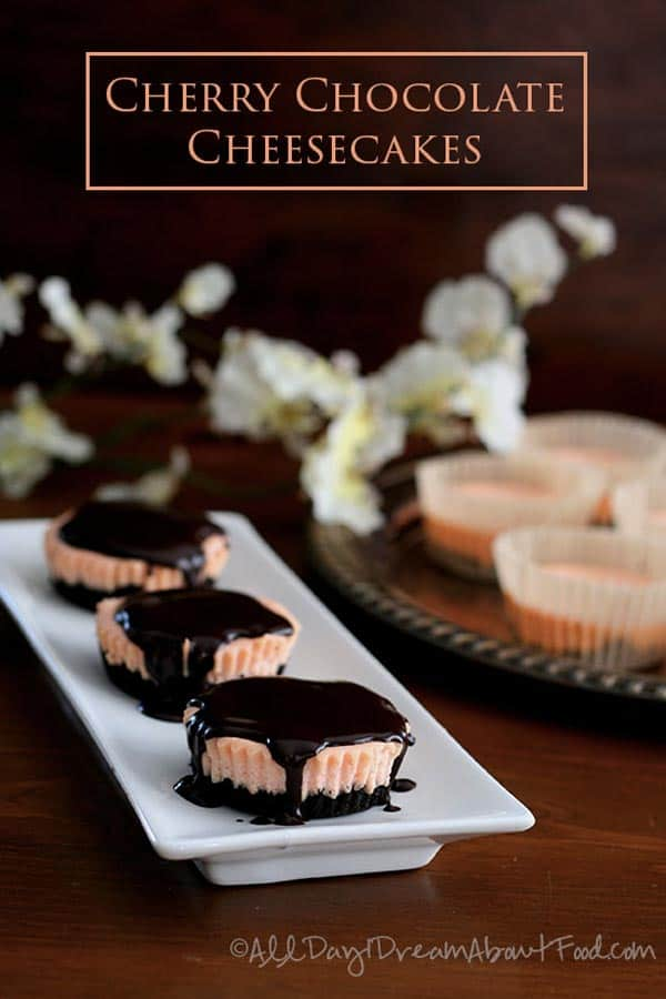 Mini Cherry Chocolate Cheesecakes - Check Top-10 low carb cheesecake recipes including easy low carb cheesecake no bake and keto options. No sugar low carb cheesecakes diabetic friendly. Low carb cheesecake bites for people on the Ketogenic diet.
