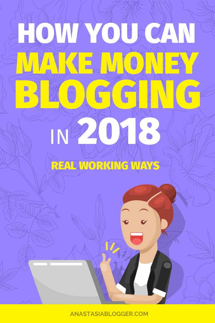 Blog. Want to learn how to make money blogging in 2018? Grab the best ways to make money blogging for beginners. I tried these monetization strategies on my new blog and they work! Can you make money blogging fast or does it take years?