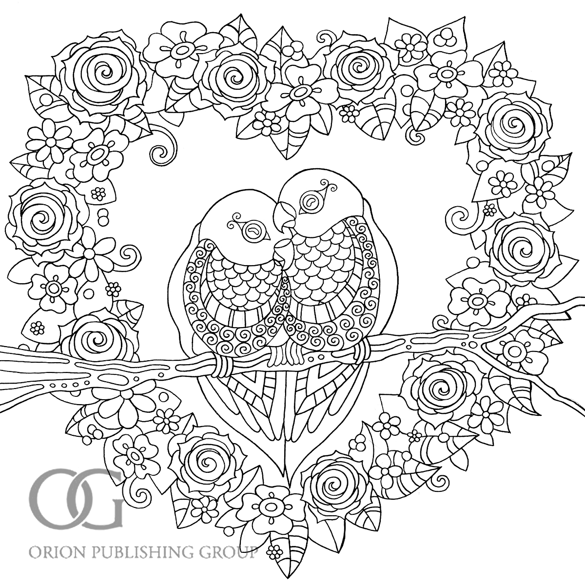 Anastasia Catris » Colour Me Mindful: Birds Previews