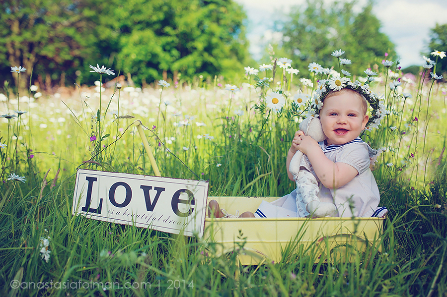 Kinderfotograf in Bielefeld  Jana  Kinderfotoshooting zum 1 Geburtstag