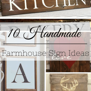 Farmhouse-Style Dresser Makeover