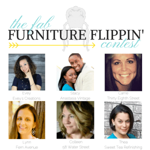 July Fab Furniture Flippin' Contest – Farmhouse Fun