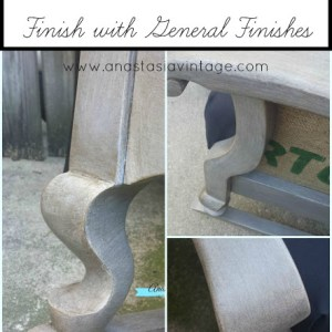 Create a Restoration Hardware Finish with General Finishes Milk Paint & Glaze Effects