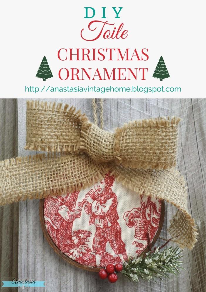 http://anastasiavintagehome.blogspot.com/2014/12/diy-toile-christmas-ornament.html
