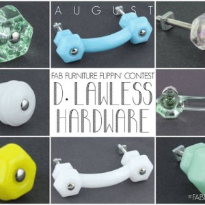 """Icing on the Cake"" {The Fab Furniture Flippin' Contest – August Edition}"
