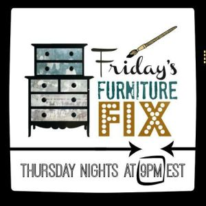 The First Ever Friday's Furniture Fix Link Party!