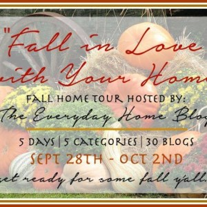 "Repurposed Industrial ""Thankful"" Sign {Fall in Love with Your Home"" Tour}"
