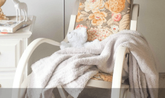 vintage bentwood rocking chair makeover CeCe Caldwell