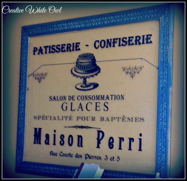Personalized French Bakery Sign