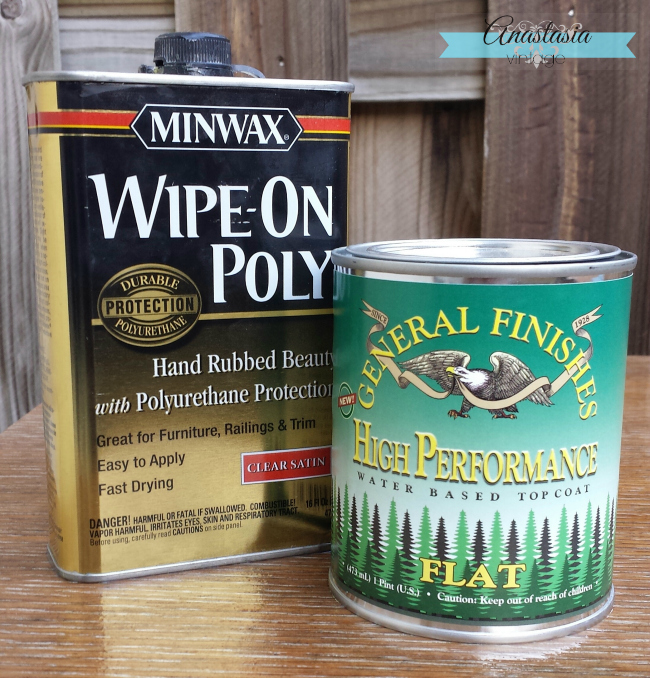 general finishes high performance minwax wipe-on poly topcoats gel stain