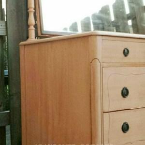 Abandoned Dresser Gets a Colorful Makeover