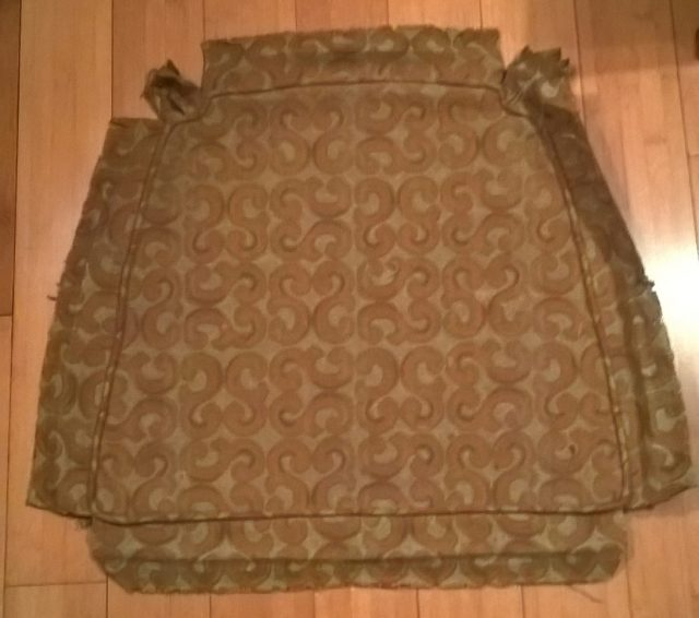 fabric to cover the seat cushion