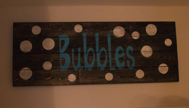 Bubbles-Sign