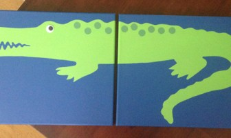 diy alligatorpainting final