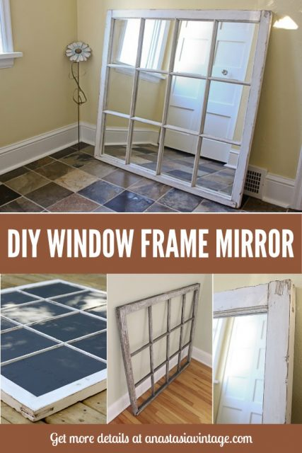 DIY Window MIrror