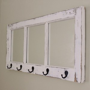 Before and After: An Old Window Turns Into Something Cute