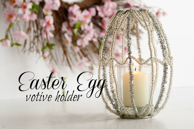 Easter Egg Votive Holder