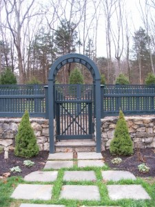 fence gate installation