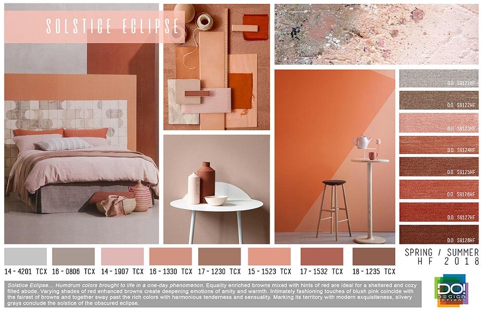 Design Options Home Textiles Trends SpringSummer 2018