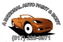 A National Auto Paint And Body