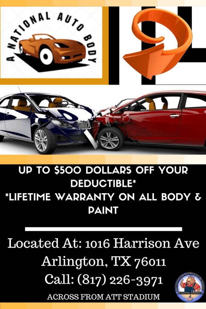 auto paint and body arlington texas