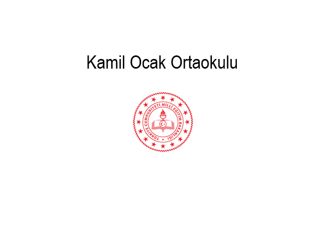 Kamil Ocak Secondary School