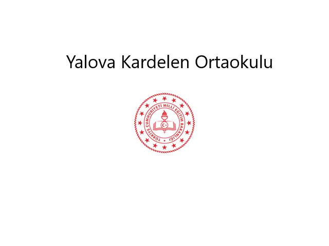 Yalova Kardelen Secondary School