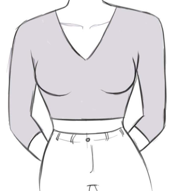 Draw Breasts with Clothing
