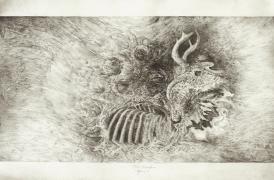The Transition, graphite, 2009