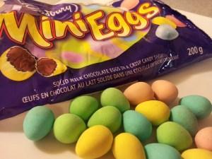 Cadbury Mini Eggs chocolate Easter Candy