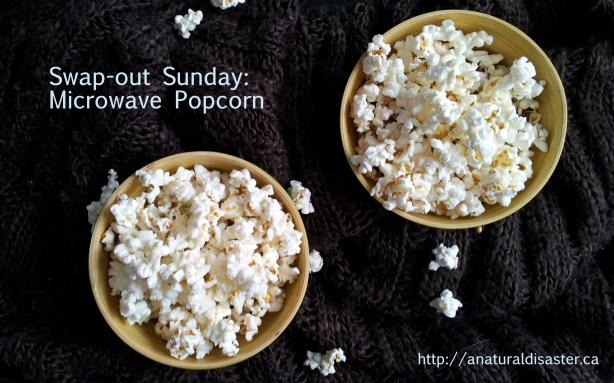 Bowls of popped popcorn pcorn