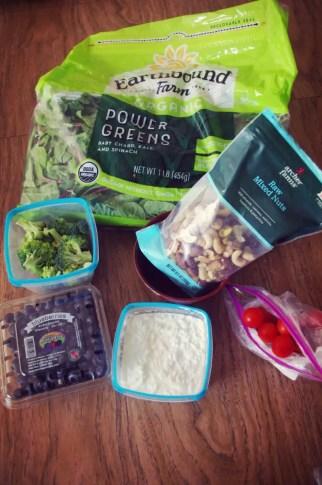 Protein power, veggies