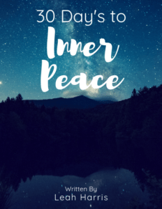 Cover Art, 30 days to inner peace