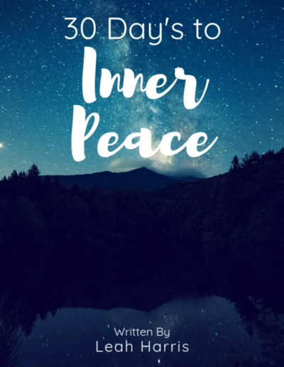30 Days to Inner Peace, by Leah Harris