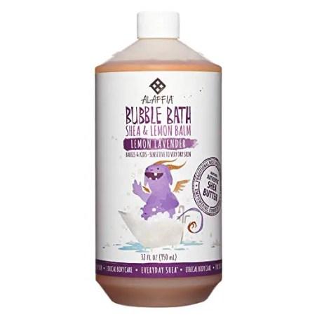 Alaffia Baby bubble bath, baby products non toxic