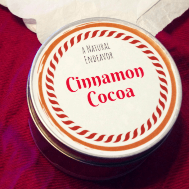 Cinnamon Cocoa Candle, Beeswax Candle
