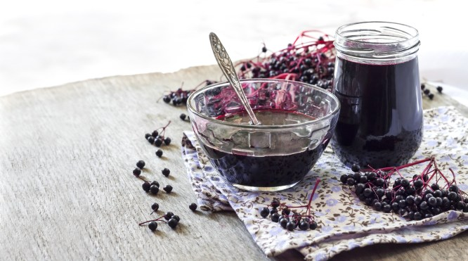 Elderberry Syrup for colds, immune boost, fight a cold with elderberry