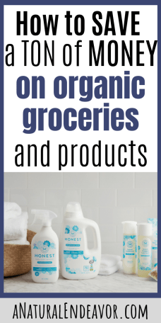 How to save money on Organic Products and groceries