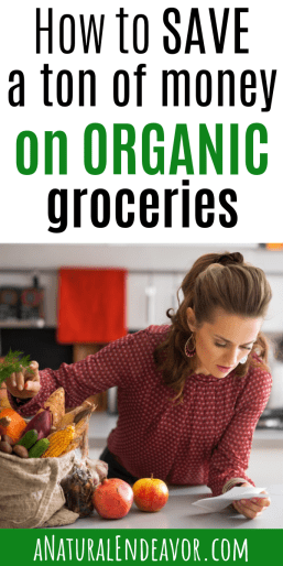 How to save money on groceries, organic groceries