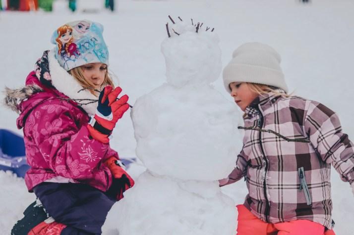 snowman, Christmas self care challenge