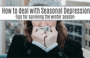 Self care for winter, seasonal depression