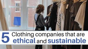 Ethical Sustainable clothing