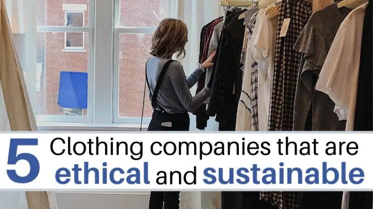 Ethical Sustainable clothing