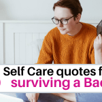 Quotes for a bad day, self care