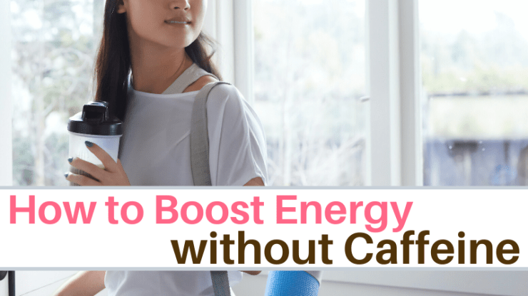How to boost energy naturally