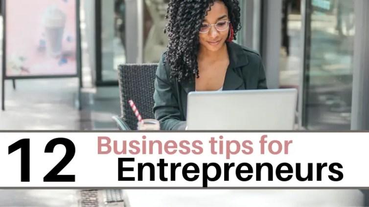 Business habits for entrepreneurs